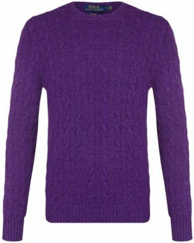 Фиолетовый свитер кашемировый Polo Ralph Lauren