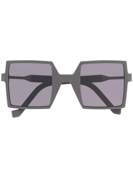 Okulary srebrne z printem Vava