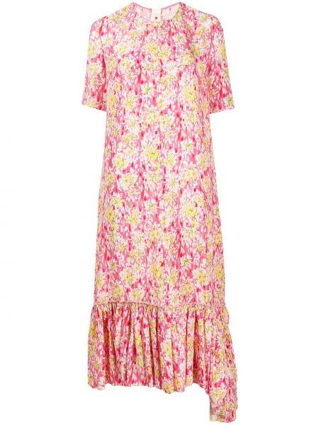 Платье мини миди с баской Marni