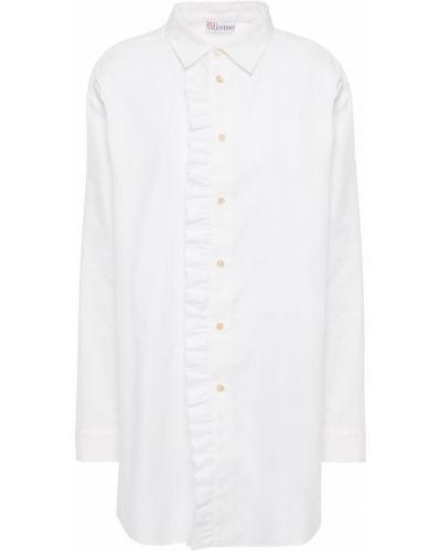 Хлопковая рубашка - белая Redvalentino