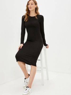 Платье свитер - черное Haily's