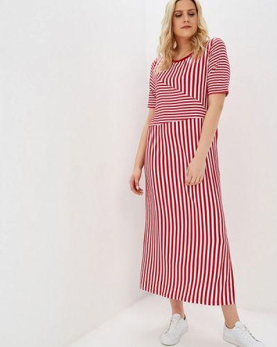 Повседневное платье весеннее красный Svesta