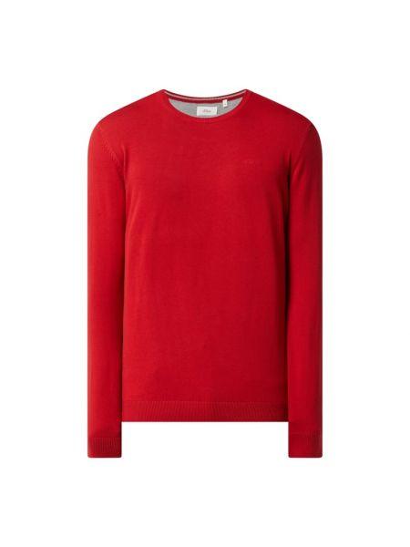 Sweter z dekoltem w serek S.oliver Red Label