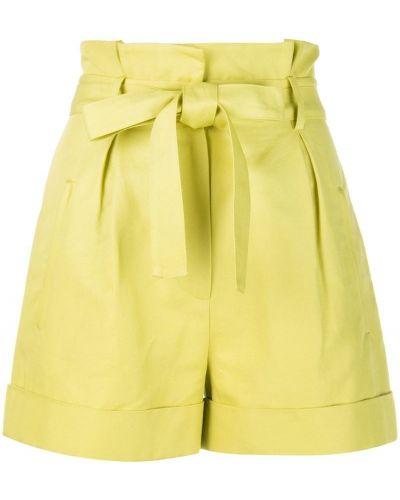 Однобортные желтые шорты с карманами Robert Rodriguez Studio