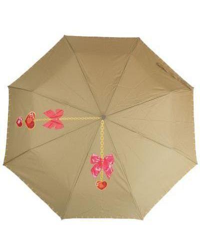 Прямой желтый автоматический зонт ветрозащитный Airton
