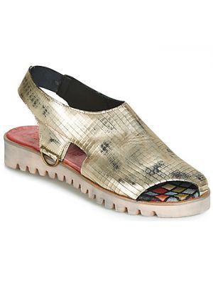 Sandały srebrne Papucei