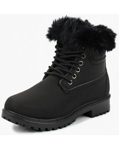Ботинки осенние черные Ws Shoes