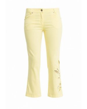 Желтые брюки прямые Tricot Chic