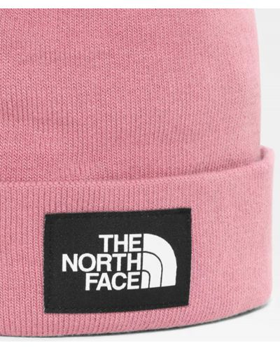 Шапка бини - розовая The North Face
