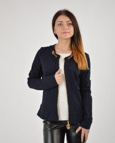 Черный пиджак Sassofono