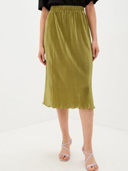 Плиссированная юбка весенняя зеленый Akhmadullina Dreams
