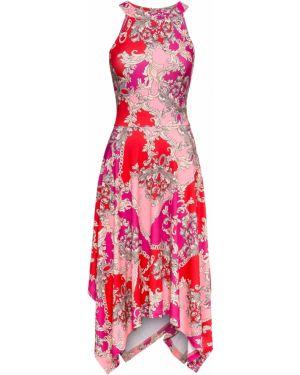 Летнее платье мини с американской проймой Bonprix