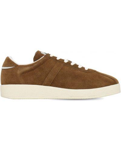 Кожаные кроссовки - желтые Karhu