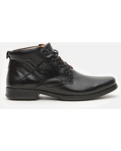 Кожаные ботинки - черные Pegada