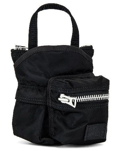 Czarna torebka elegancka Sacai