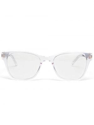 Czarne okulary srebrne Prism