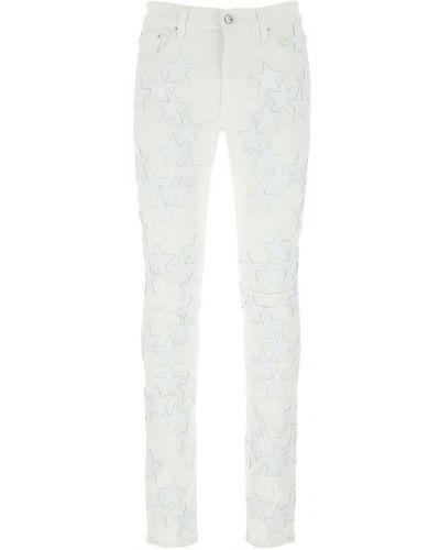 Białe mom jeans Amiri