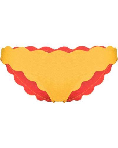 Желтый купальник из эластана Marysia