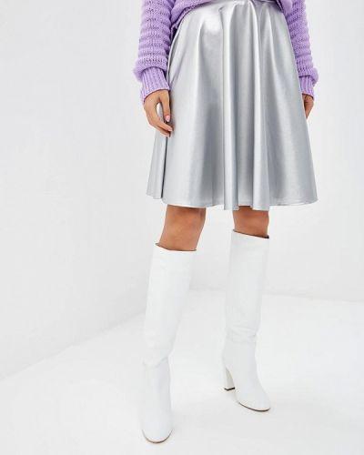 Серебряная юбка Makadamia