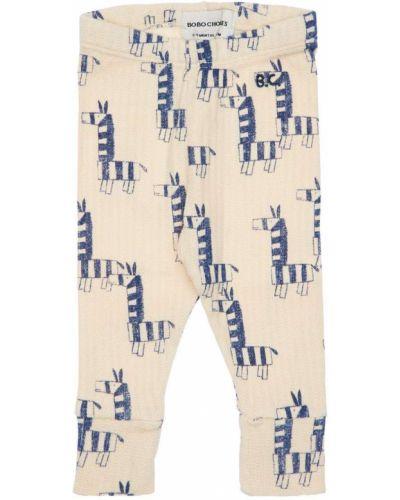 Bawełna bawełna legginsy na gumce Bobo Choses