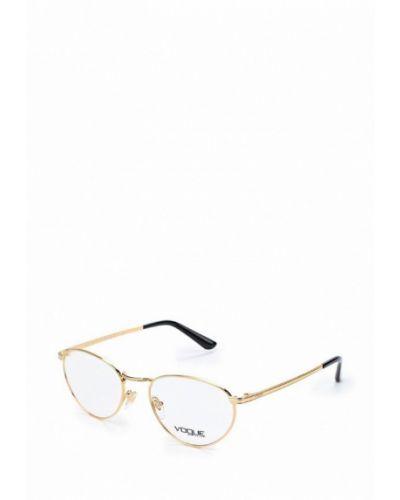 Оправа золотого цвета Vogue® Eyewear