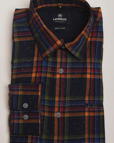 Хлопковая рубашка с длинными рукавами Lerros