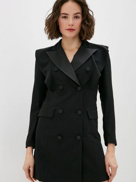 Платье платье-пиджак черное Miss Miss By Valentina