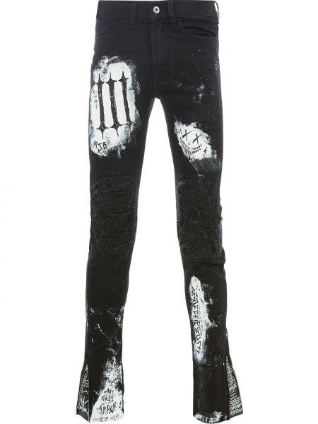 Czarne spodnie bawełniane do pracy Mjb Marc Jacques Burton