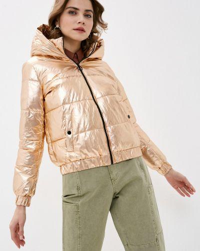 Утепленная куртка - золотая Pimkie