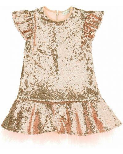 Beżowa sukienka Monnalisa