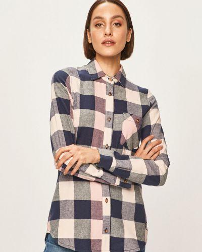 Блузка с длинным рукавом классическая в клетку Femi Stories