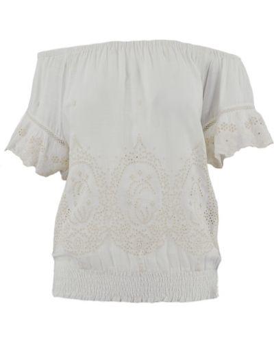 Bluzka oversize - biała Patrizia Pepe