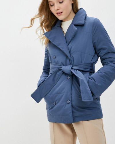 Утепленная синяя куртка Self Made