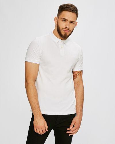 Белая футболка однотонная S.oliver