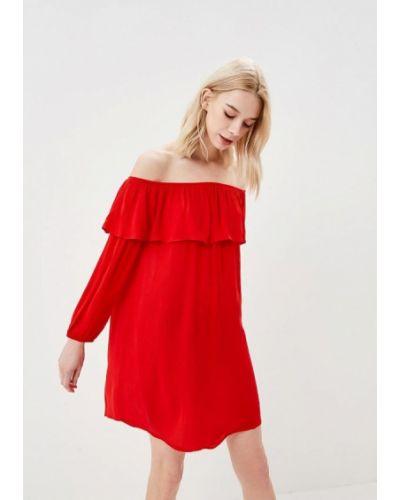 Красное платье Glamorous