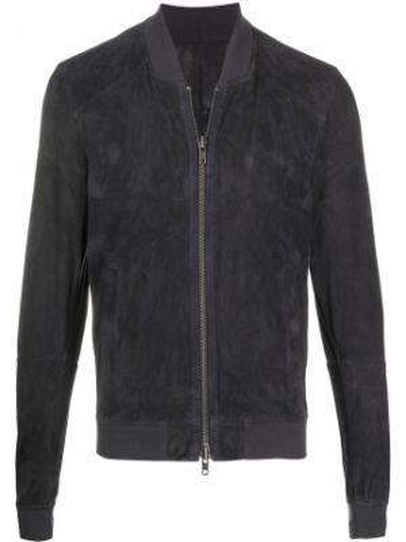 Синяя куртка с манжетами на молнии с карманами S.w.o.r.d 6.6.44