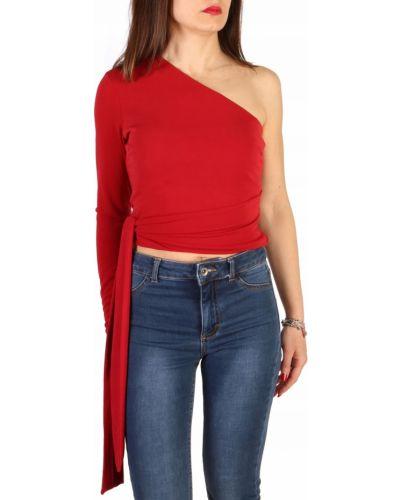 Bluzka asymetryczna - czerwona Guess