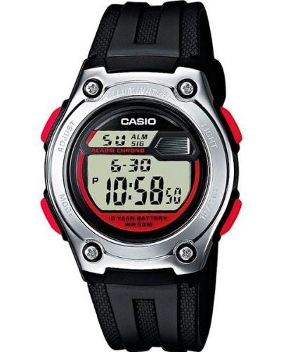 Часы водонепроницаемые с подсветкой пластиковые Casio