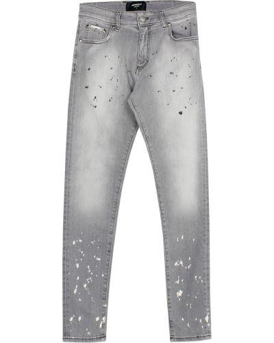 Szare jeansy zapinane na guziki Represent
