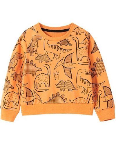 Оранжевый свитшот Malwee