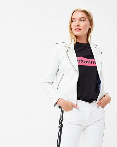 Куртка весенняя белая Fornarina