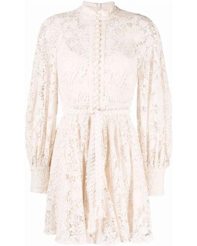 Кружевное платье - белое Zimmermann