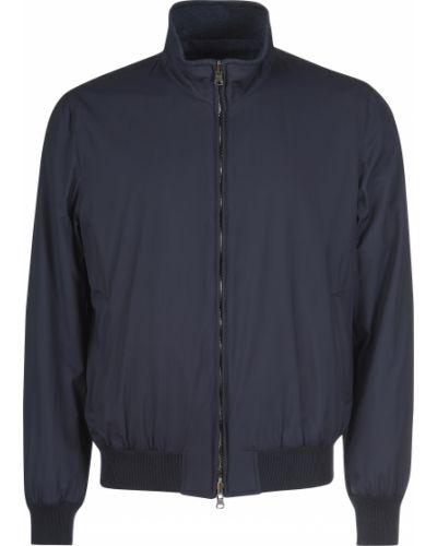 Шерстяная куртка - синяя Enrico Mandelli