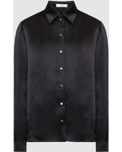 Черная блузка Lanvin