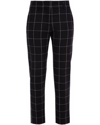 Черные брюки с карманами Piazza Sempione