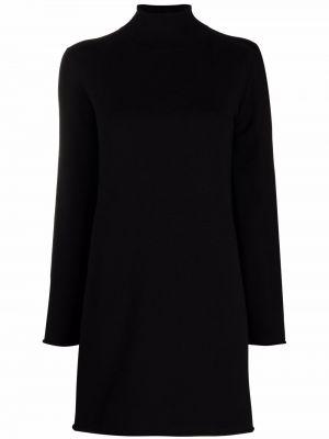 Платье макси длинное - черное Semicouture