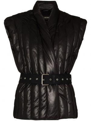 Черный пиджак без рукавов Isabel Marant