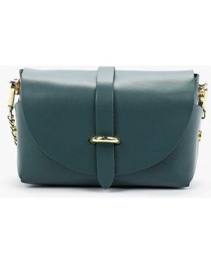 Кожаная сумка - зеленая Pulicati