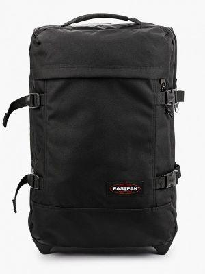 Черный зимний чемодан Eastpak