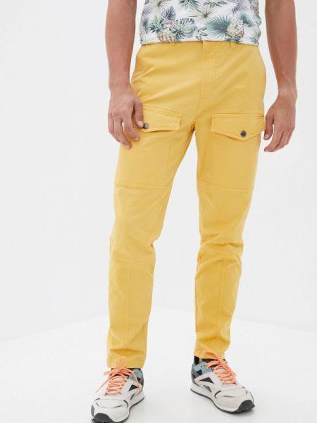 Желтые брюки карго Angelo Bonetti